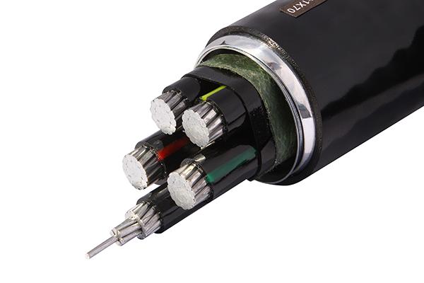 YJHLV82(ZB-ACWU90 ) 铠装铝合金电力电缆