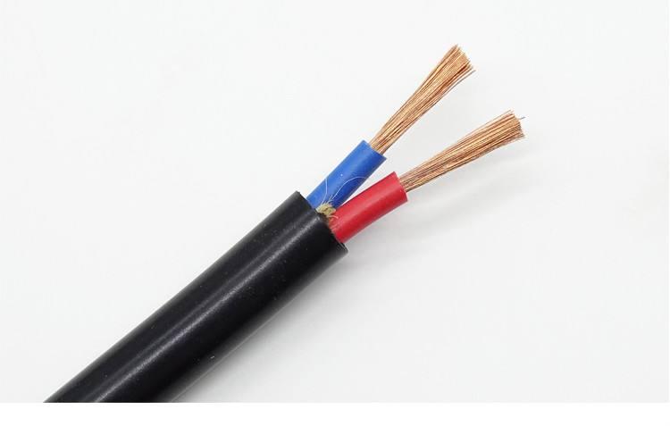 ZR-RVV铜芯阻燃聚氯乙烯绝缘聚氯乙烯护套软电线
